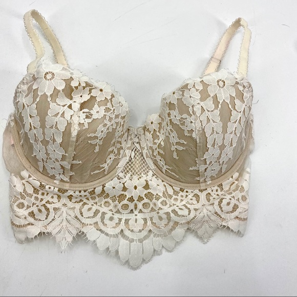 Victoria's Secret dream angels lined demi zip up